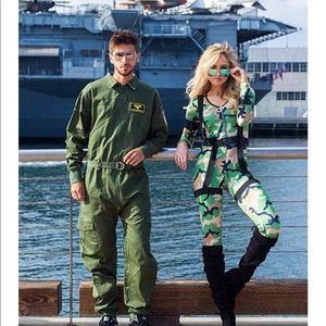 Men's New Pilot Halloween Costume